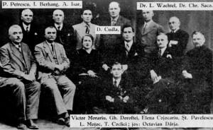 Comitetul Reuniunii PORUMBESCU 1935