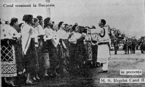 Corul Reuniunii la Bucsoaia