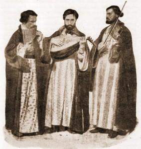 Taraf tradiţional, aşa cum exista, la hiperborei, încă din vremea lui Pindar