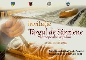 invitatie - targ de sanziene 2014