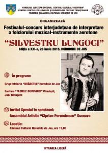 Afis - Silvestru Lungoci 2015