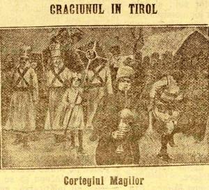 Craciun in Tirol UNIVERSUL LITERAR 1915