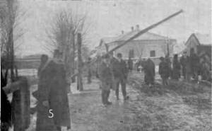 1915 GAZETA ILUSTRATA Vama austriaca Itcani ocupata de rusi cu finant austriac refugiat