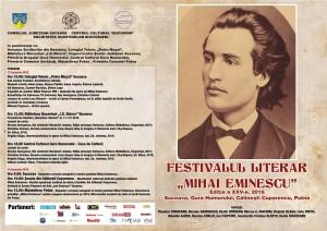 AFIS FESTIVAL EMINESCU 2016